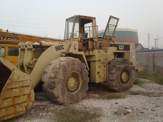 used cat loader 980C caterpillar 980c