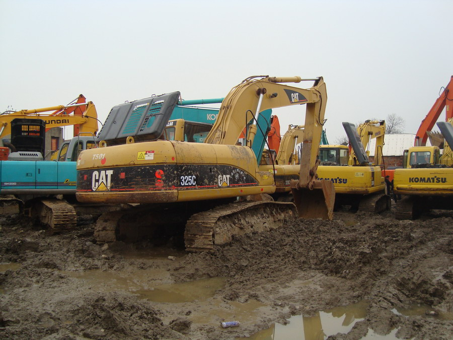 used cat excavator 325c caterpillar 325c