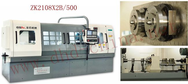 Dual-axis Gun drilling Machine Tool