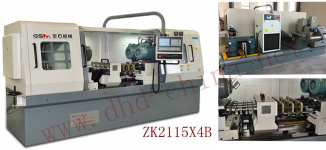 Four-axis Gun drilling Machine Tool