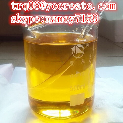 Yellow Liquid Muscle Building Injections Metribolone Methyltrienolone Recipes