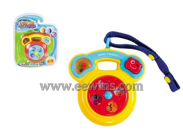 Baby cartoon toys music machine(non-electric)