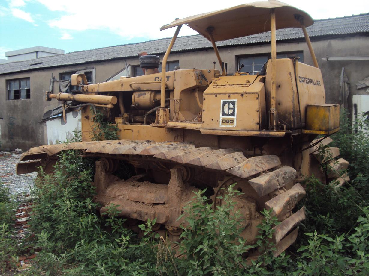 used cat bulldozer D6C cat D6C