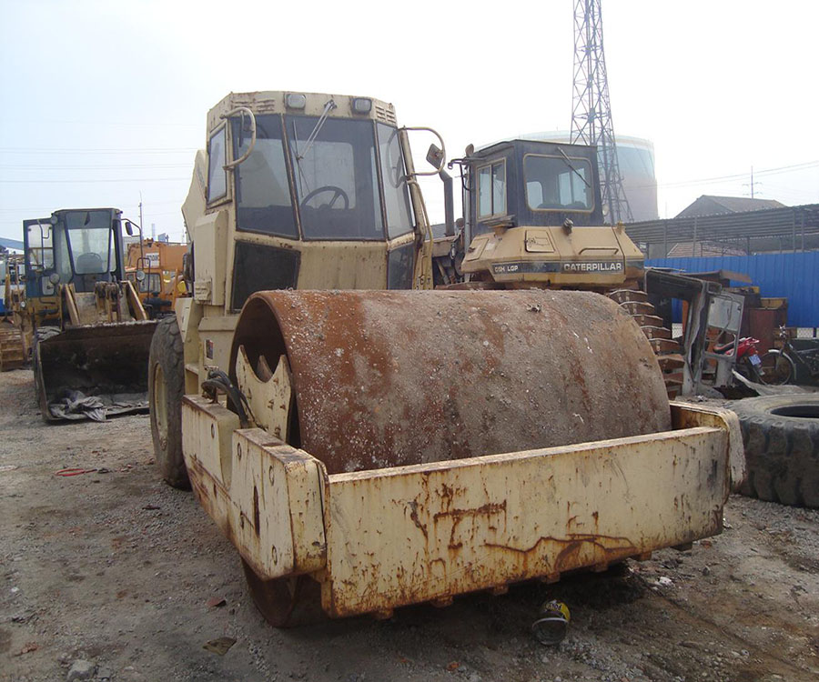 used ingersoll rand road roller SD175D