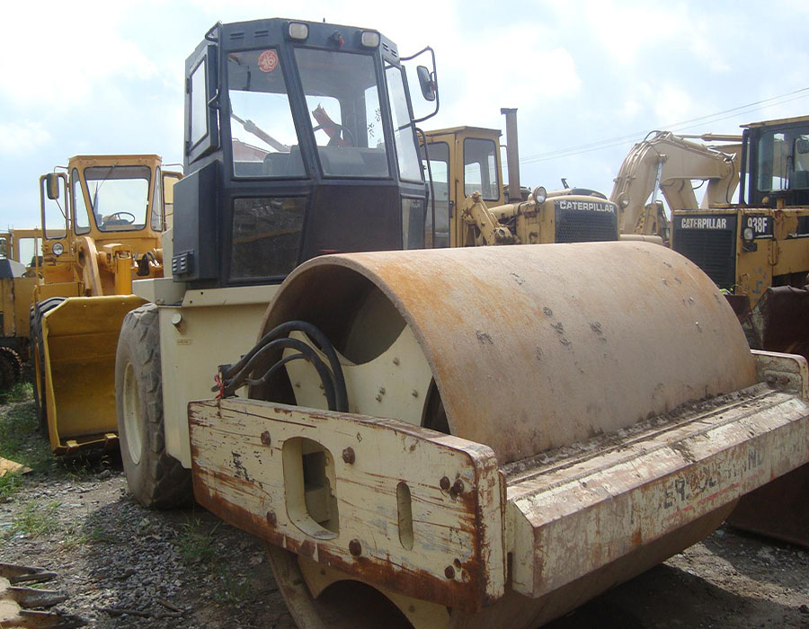 used ingersoll rand road roller SD150D