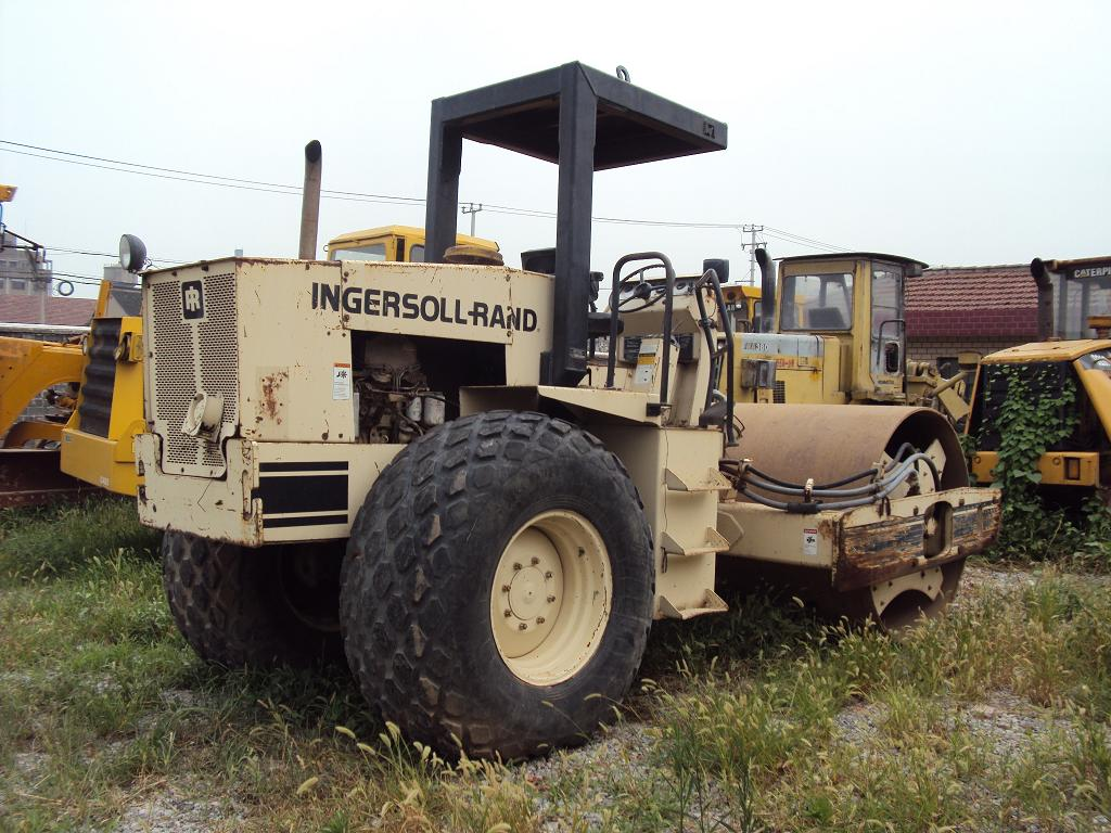 used ingersoll rand road roller SD100D