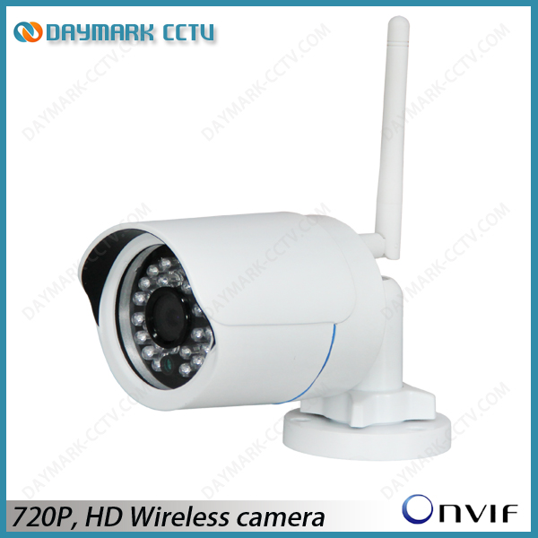 720p Wireless Outdoor IP Camera with CMS
