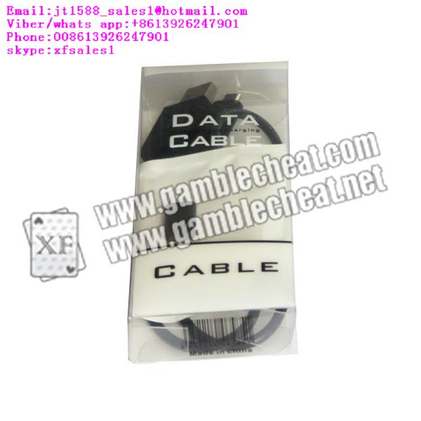XF USB cable camera for poker analyzer|marked cards|hidden camera|poker cheat
