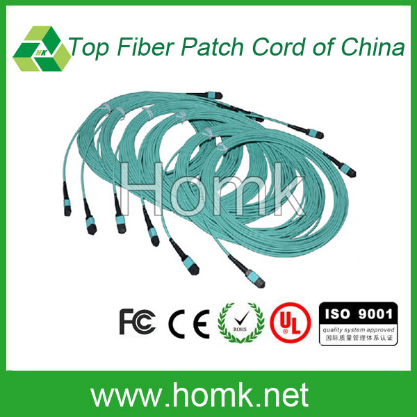 Factory supplier MPO fiber patch cord optical MPO fiber patch cord