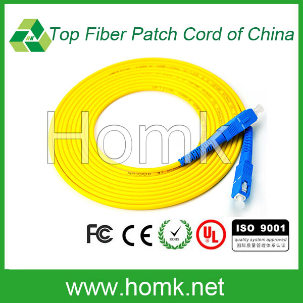 Fiber optic patch cord factory supply fiber optic patch cord