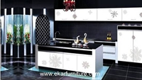 Kitchen cabinets kitchen storage ktichen furniture SSK-837