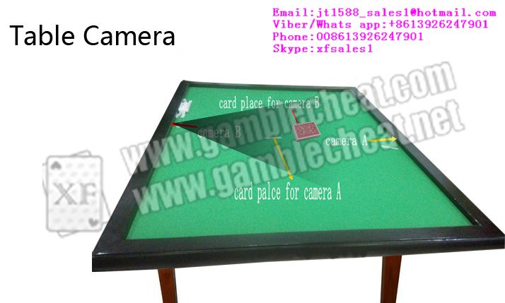 XF 2015 table camera for poker analyzer|marked cards|poker camera|poker cheat device
