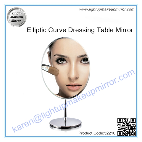 Elliptic Curve Dressing Table Mirror