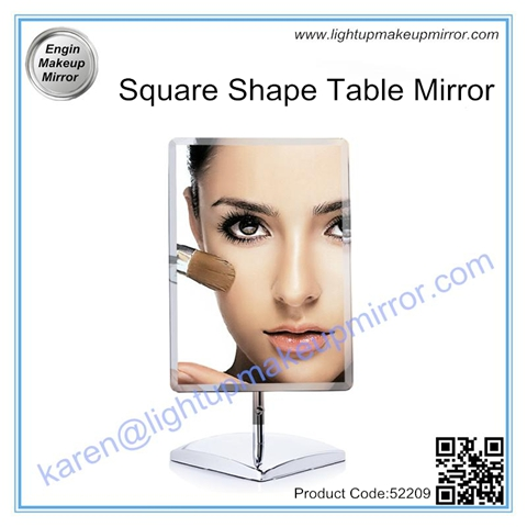Square Shape Table Mirror