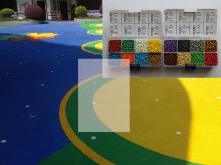 EPDM granules used in playground