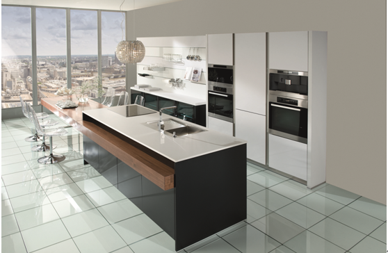 Jisheng | UV high gloss modern kitchen cabinet