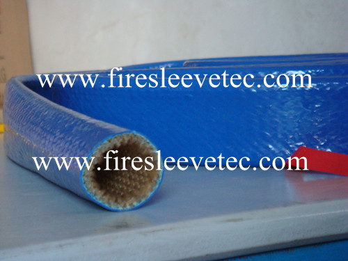 heat resistant fire sleeve with velcro