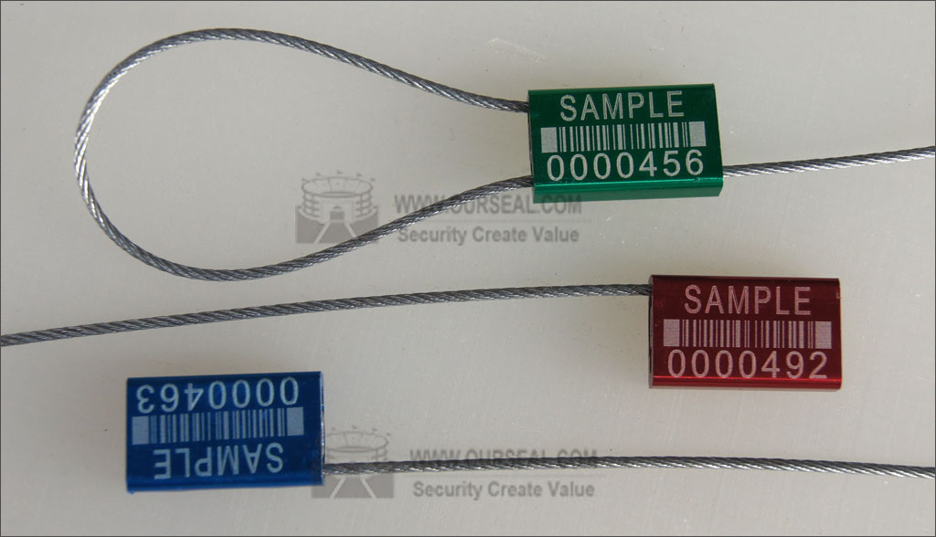 OS6001,Security seals cable seals cheapest pull tight container seals
