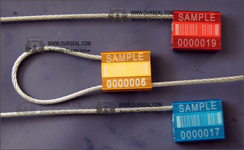 OS6002,Security seals cable seals cheapest pull tight container seals