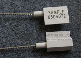 OS6605,Security seals cable seals cheapest hexagonal cable seals