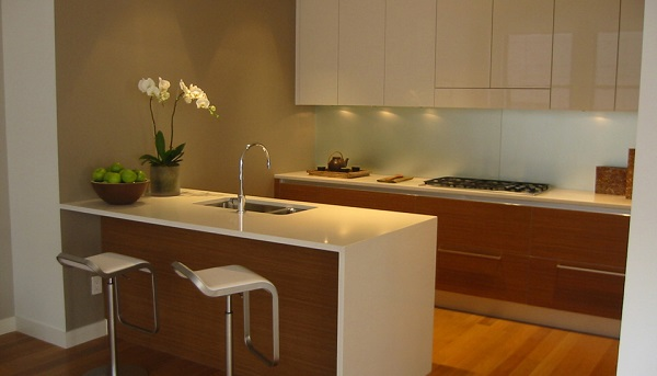 sparkling quartz kitchen countertop