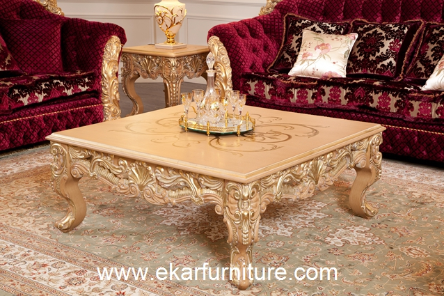 Coffee table wooden table antique table AT-301A
