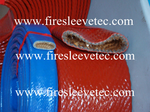 hydraulic tube heat protection firesleeve