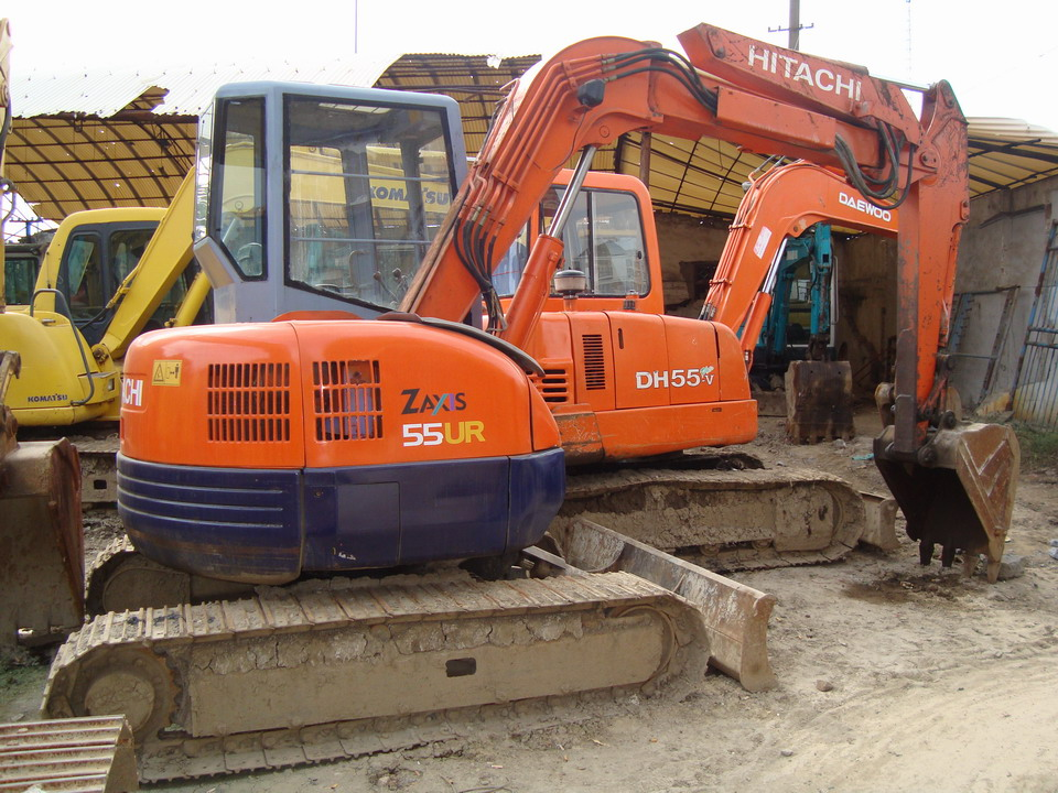 used hitachi excavator ex55 hitachi ex55