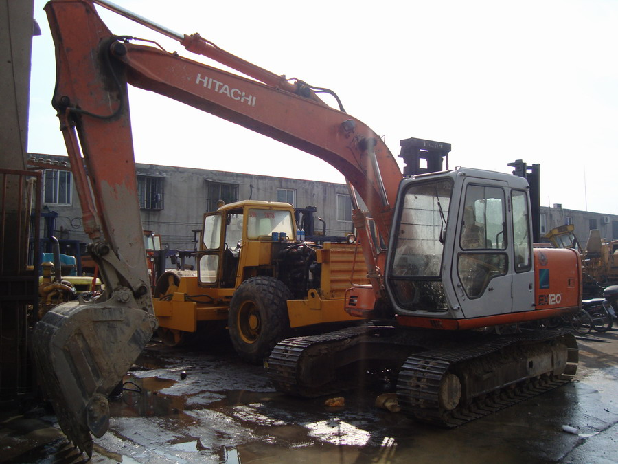 used hitachi excavator ex120-2 hitachi ex120-2