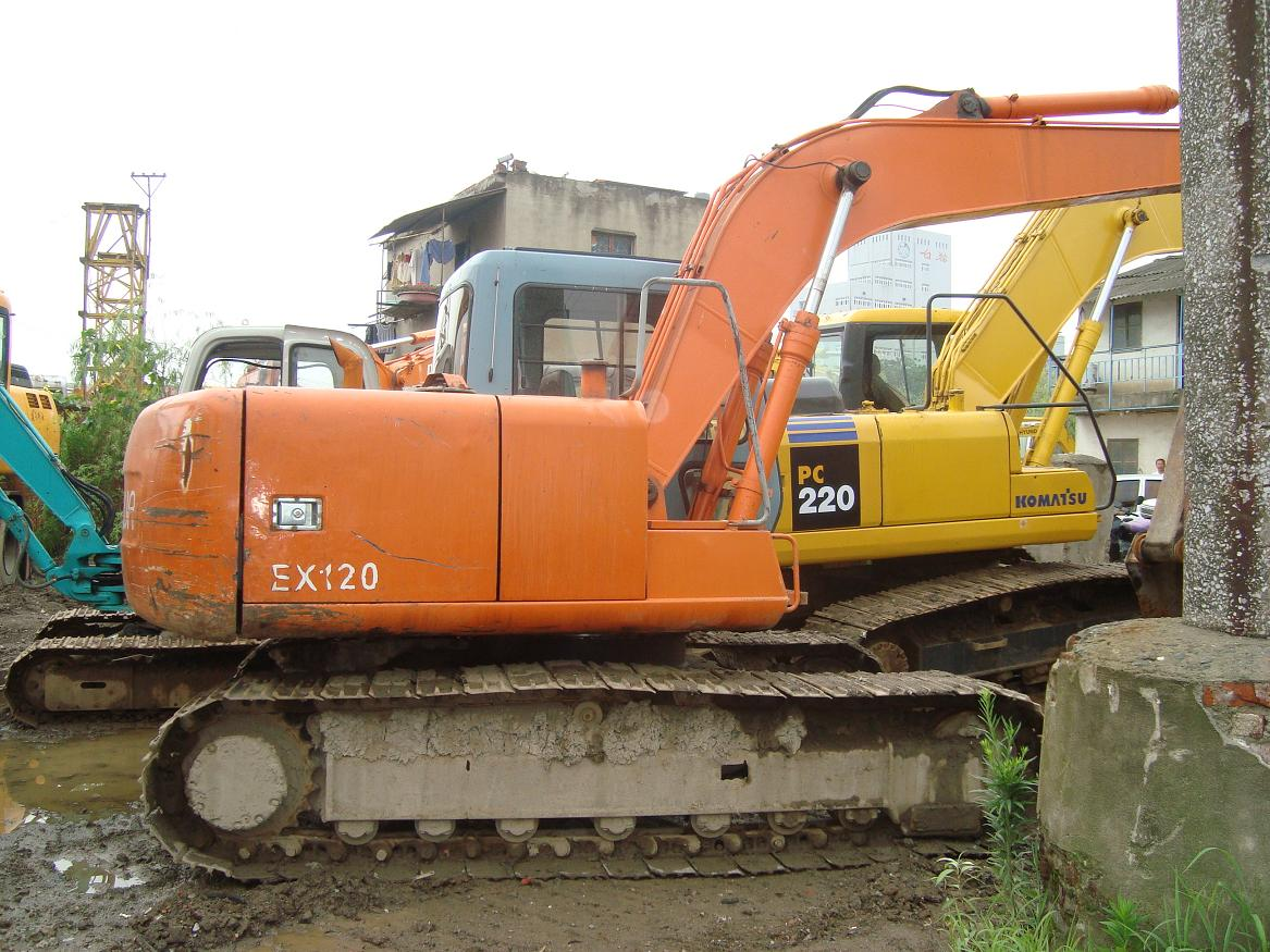 used hitachi excavator ex120-3 hitachi ex120-3
