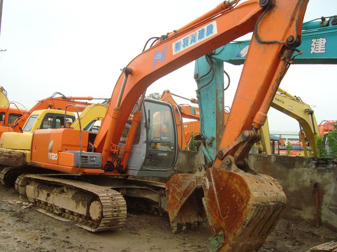 used hitachi excavator ex120-5 hitachi ex120-5