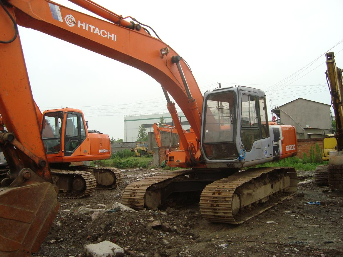 used hitachi excavator ex200-3 hitachi ex200-3