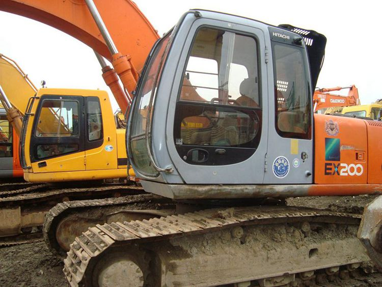 used hitachi excavator ex200-5 hitachi ex200-5