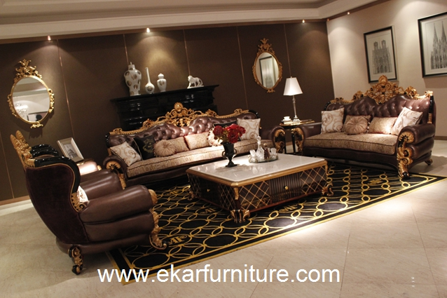 Genuine sofa sofa set classical sofa TI-028