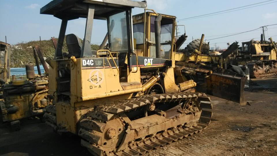 used cat bulldozer D4C caterpillar D4C