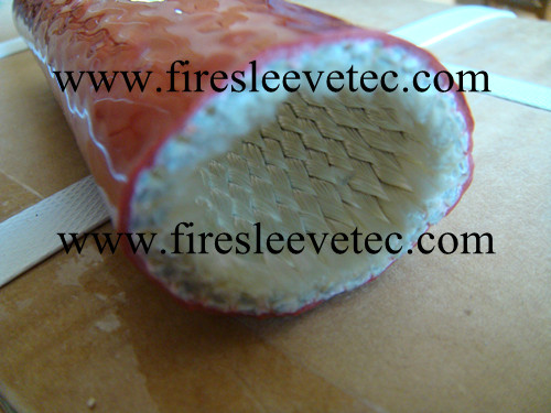 fire sleeve with velcro