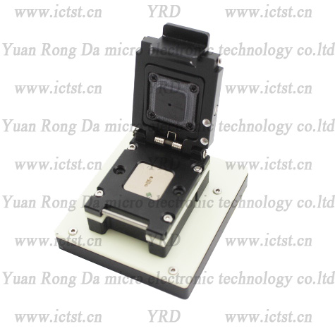 PLCC test socket PLCC SUPERPIX SP0820 BGA test socket test fixture PLCC writer