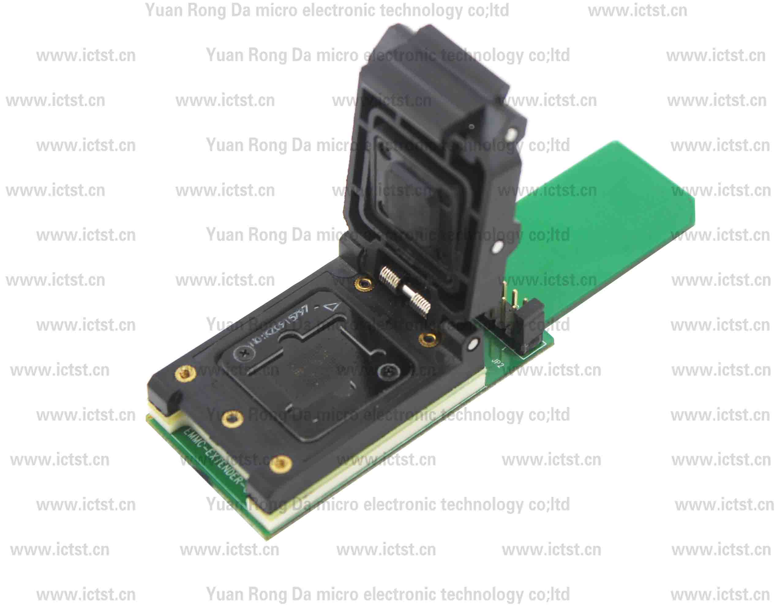 EMMC SD TEST SOCKET test socket  SD card test. 	China test socket supplier