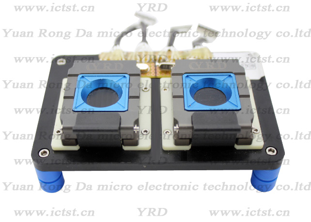 QFN40 test socket QFN test socket test fixture QFN born-in socket