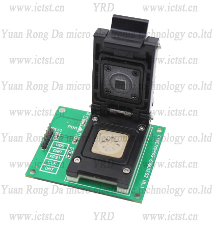 CY8CTMA463 test socket  born-in socket  writer  BGA test socket programming device