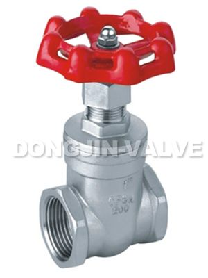 Stainless Steel Inside Screw Gate Valve.