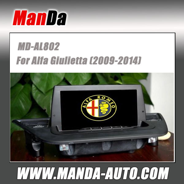 Manda car multimedia for Alfa Giulietta (2009-2014) factory navigation in-dash dvd gps auto stereos
