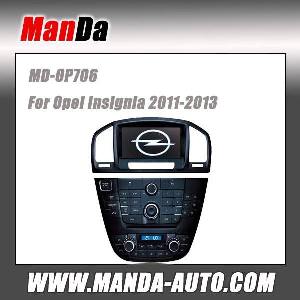 Manda car multimedia for Opel Insignia 2011-2013 car audio video factory multimedia navigation dvd gps auto parts