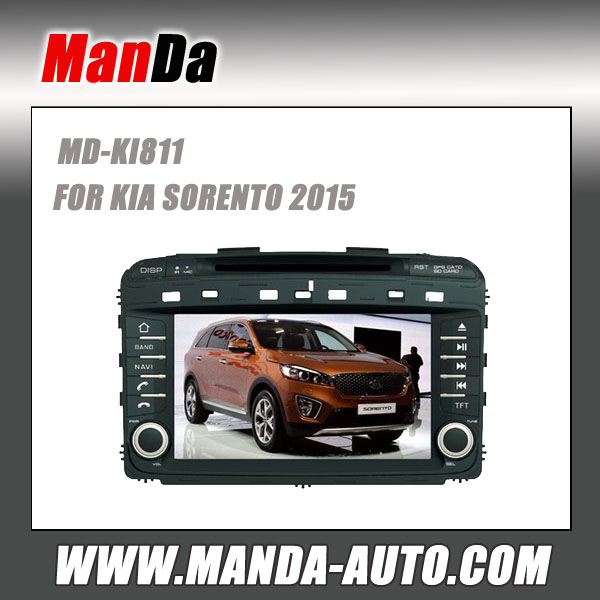 Special Car multimedia For KIA SORENTO 2015 All in one DVD Sat Nav Touchscreen - 100% Kia Custom Fit