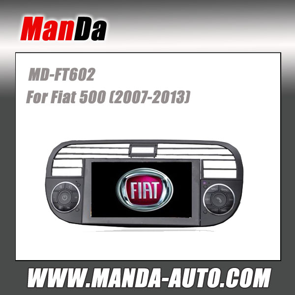 Manda 2 din car radio for Fiat 500 (2007-2013) in-dash head unit touch screen dvd gps autoradio