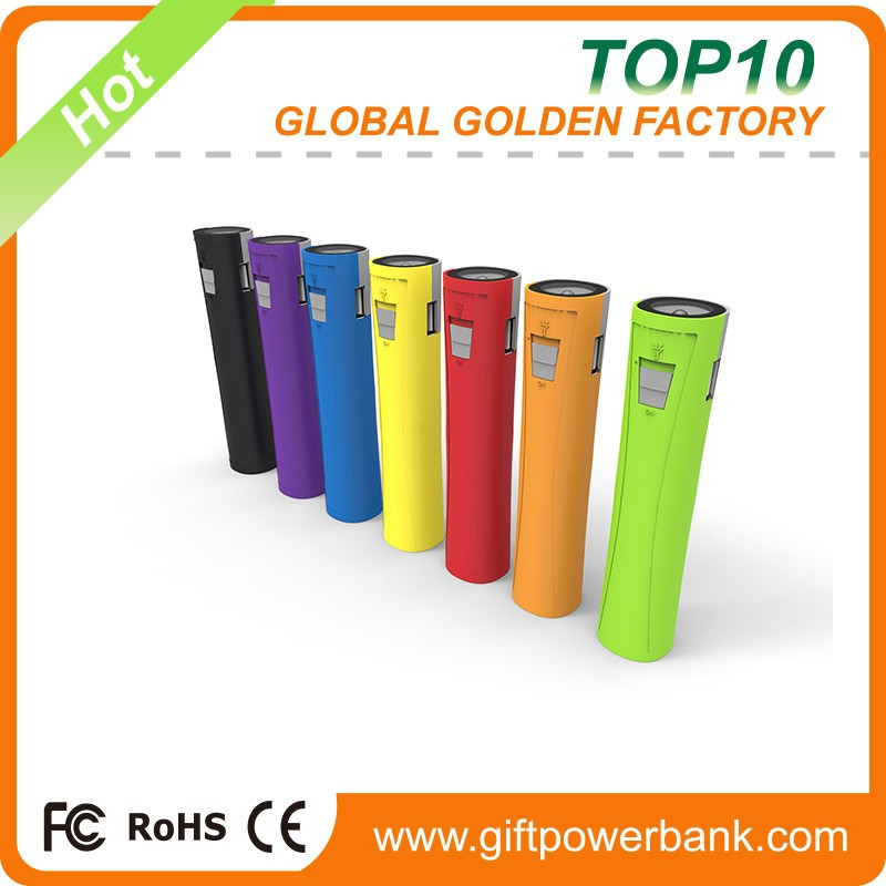 OEM factory wholesale Manufacture Directly sale power bank,2800mah power bank,stick power bank