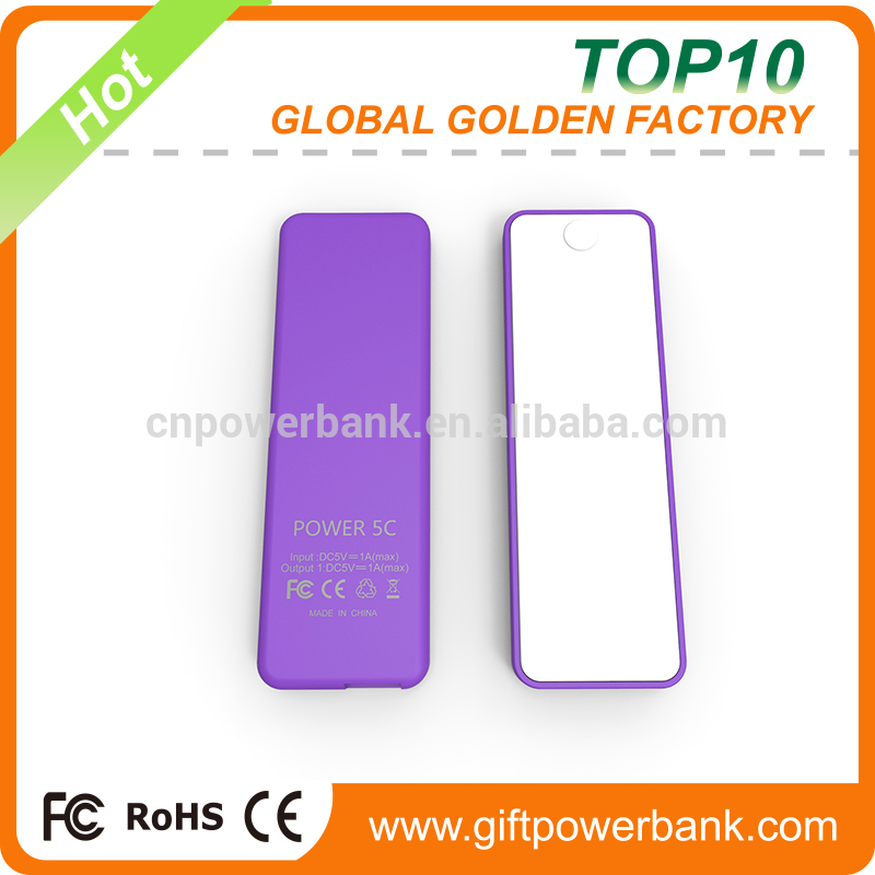 Super fast promotion power bank,1400mah power bank