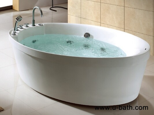 U-BATH 2014 Hot Product Italy Morden Freestanding Jacuzzi and Whirlpool Massage Bathtubs