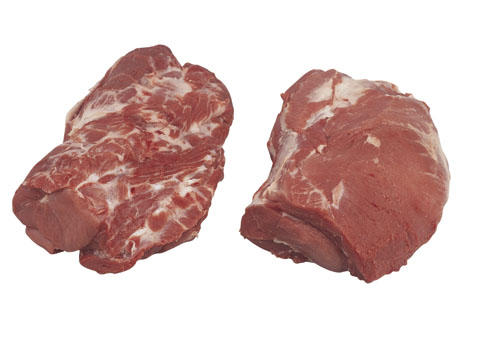 Frozen Pork Collar / Neck Boneless, Skinless
