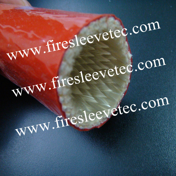 hydraulic tube protection fire sleeve